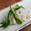 まんざら - 料理写真:『白焼穴子 七輪焼』