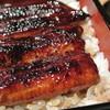 三味 - 料理写真:うな重(関東風の蒸しが入ったもの)肝吸い・香の物付き¥3900【2013.10現在】