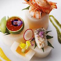 アンクィール - 日本料理とフレンチのシェフが織りなす折衷のコース料理