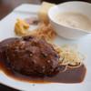 LES BAUX - 料理写真:おもてなしデニッシュ(ハンバーグ)