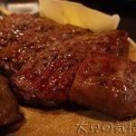 ミヤザキ商店 - 和牛ハラミ串塩焼き
