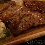 ミヤザキ商店 - 和牛霜降りサーロイン串おろしポン酢添え