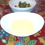 でんぷん - サラダとスープ