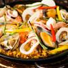 スペインバルダイニング トーティラ フラット - 料理写真:新鮮な魚介類がたくさん『海の幸のパエージャ』※写真は一人前です