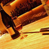 Bar 奥 - 料理写真:京都でも数少ないベネシアドール。ベネシアを使ってシェリーを注ぐパフォーマンス。