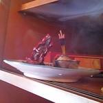 エベレスト キッチン - 店内レジ脇にお香が焚かれて