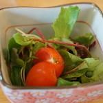 うみひこ やまひこ - ベビーリーフとミニトマトのサラダ付き(2013.10.31)
