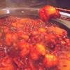 漢陽 - 料理写真:プリプリのホルモン、丸腸とミノを甘辛く深い漢陽独特の薬念を煮絡めた名物です。