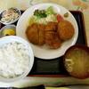 食堂 愛津屋 - 料理写真:ミックスフライ定食