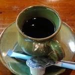滝やま荘 - 食後のコーヒー