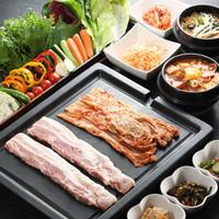 健康にもオススメな韓国家庭料理