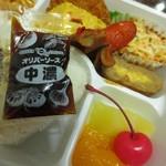 交通科学博物館 食堂車 - 神戸の淡路屋だけにオリバーソース使用。
