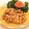 大連食府 - 料理写真:鶏唐揚げのレモンソースかけ