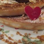 ミーズパンケーキ - 生地の厚みは普通サイズ