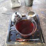 オリエンタル カフェ - アップルシナモンティー セット価格¥150