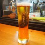 旬菜美酒 庫楽 - 生ビール フリー