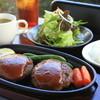 梅桜亭 - 料理写真:黒毛和牛100%ハンバーグ
