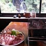 滝やま荘 - 強欲に色々な肉を選択