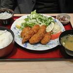 築地食堂源ちゃん - カキフライ定食