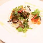 Bistrot Enry. - 本日の鮮魚のオードブル、サラダ仕立て '13 10月下旬
