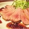 松下雄二屋 - 料理写真:赤ワインにぴったり。フランス産  鴨のロースト カシスソース