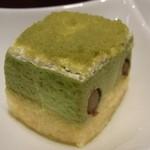 日本料理 つる家  - ⑤抹茶ケーキ♪