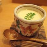 日出鮨 - ミニ茶碗蒸し 梅入り