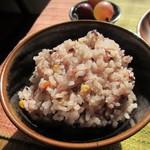 ネマルカフェ - 雑穀米