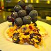 SAWA - 料理写真:特大大粒葡萄とフリッター