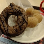 ミスタードーナツ - 生チョコリングパイ チョコ:136円