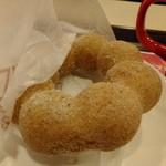 ミスタードーナツ - ポンデ黒糖:126円