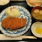 かつ楽 - ロースかつランチ(80g) ¥913