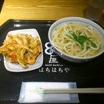 藁焼きと四国料理88屋 - かき揚げとうどん