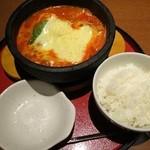 京○ - 海老チーズ スンドゥブ