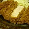 とんかつ まるや - 料理写真:限定!厚切ロースかつ定食◆1200円