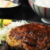 焼き処勝ちゃん - 料理写真:『丘のまちびえいバーグ』 丘のまちびえいのびえい牛と、びえい豚のスペシャルハンバーグ