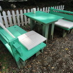 cafe KO-BA - テーブル&ベンチ