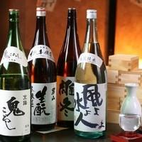 北海道の地酒を中心に全国各地の日本酒を取り扱っております!