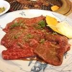 山形牛ステーキ&焼肉 かかし - 山形牛 上ロース タレ