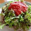 風の里 - 料理写真:モッツァレラチーズのタコライス