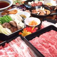 琉球島和牛・琉球黒豚あぐーのしゃぶしゃぶ鍋 食べ放題!