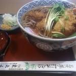 大正庵 - 料理写真:天ぷらソバ900円