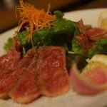 STEAK&HUMBURG ひげ - 十勝サーロインカルパッチョ