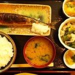 順菜 - 新さんまの塩焼き