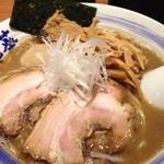 麺や葵 - 濃厚味玉中華そば+サービスめんま 900円