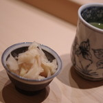 鮨さゝ木 - 生薑(はじかみ)
