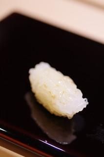 鮨さゝ木 - 白烏賊(しろいか)