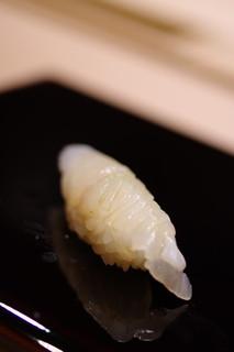 鮨さゝ木 - 鮃(ひらめ)昆布〆(こぶじめ)