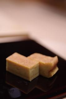 鮨さゝ木 - 鶏卵炙(たまごやき)