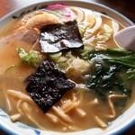 味の清ちゃん - 料理写真:昔しラーメン(味噌)